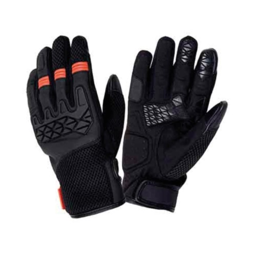 GANTS PRINTEMPS/ETE TUCANO HOMME DOGON NOIR/ORANGE (HOMOLOGUE EN13594)